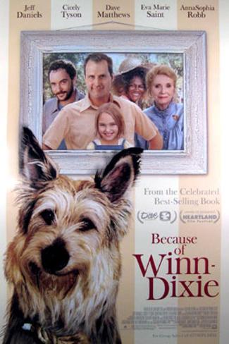 Because Of Winn-Dixie Original Poster