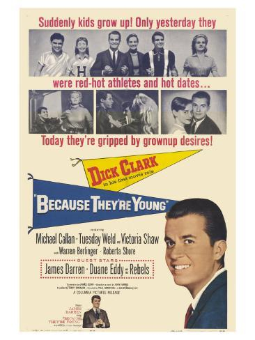 Because They're Young, 1960 Art Print