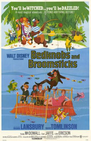 Bedknobs and Broomsticks Masterprint