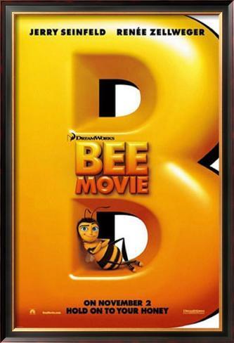Bee Movie: A História de uma Abelha Impressão artística emoldurada