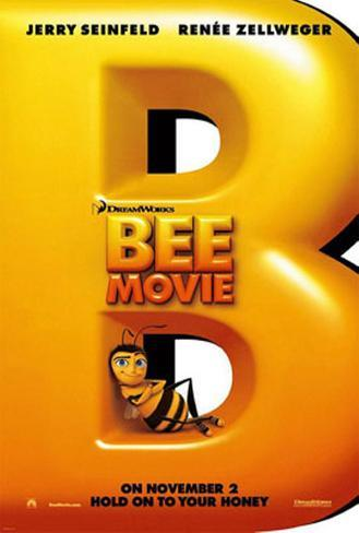 Bee Movie Dubbelsidig poster