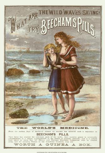 Beecham's Pills Art Print