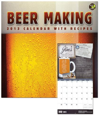 Beer Making with Recipes - 2013 Calendar Calendars