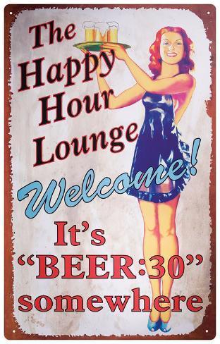 Beer Thirty Tin Sign