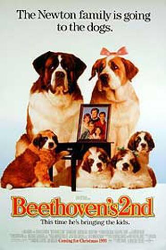 Beethoven's 2Nd Original Poster