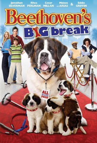 Beethoven's Big Break Poster