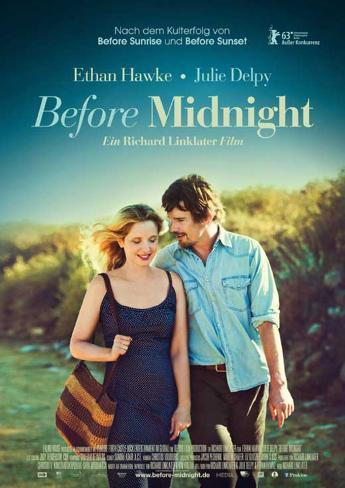 Before Midnight (Ethan Hawke, Julie Delpy) Movie Poster Stampa master