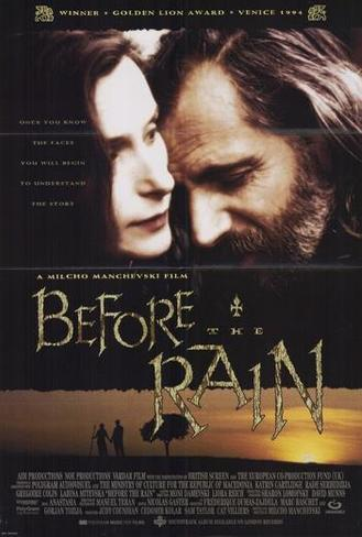 Before The Rain Poster