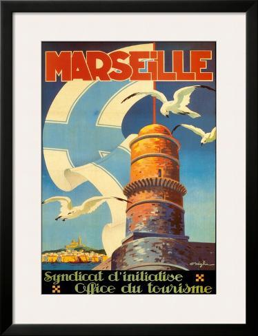Marseille Framed Art Print