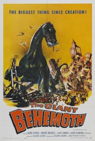 Behemoth the Sea Monster Poster