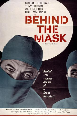 Behind the Mask Art Print