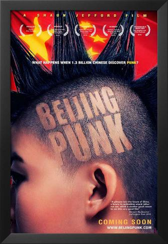 Beijing Punk Framed Art Print
