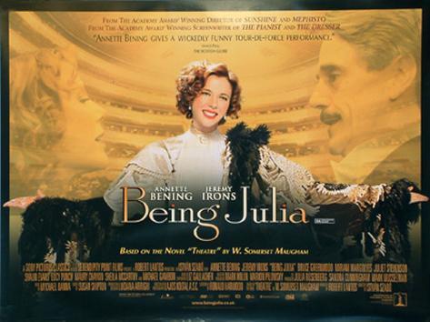 Being Julia Originalposter