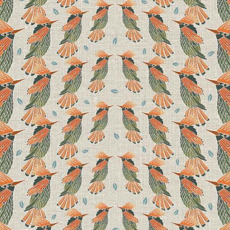 Aves, Coqueta Lentejuelada Giclee Print
