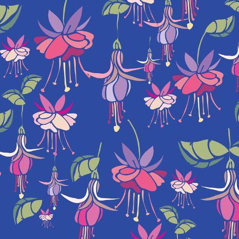 Flowers, Aretes Color Giclee Print