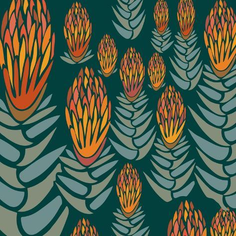 Flowers, Flower Of The Andes Color Giclee Print