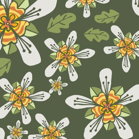 Flowers, Ortiga De Caballo Color Giclee Print
