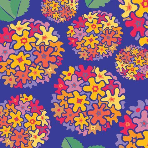 Flowers, Tupirosa Color Giclee Print
