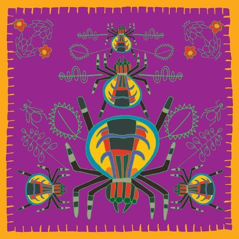 Spider, Jumping Spider Giclee Print