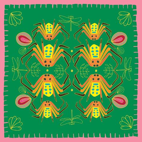 Spider, Mirror Spider Giclee Print