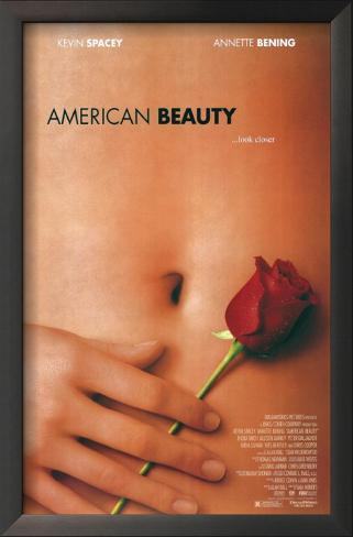 Beleza Americana Impressão artística emoldurada