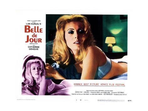 Belle De Jour, Catherine Deneuve, 1967 Impressão giclée