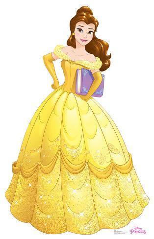 belle disney princess friendship adventures lifesize standup