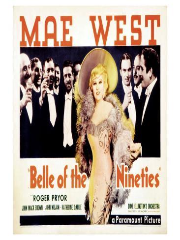 Belle of the Nineties, 1934 Art Print