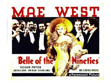 Belle of the Nineties, Mae West, Roger Pryor, 1934 Photo