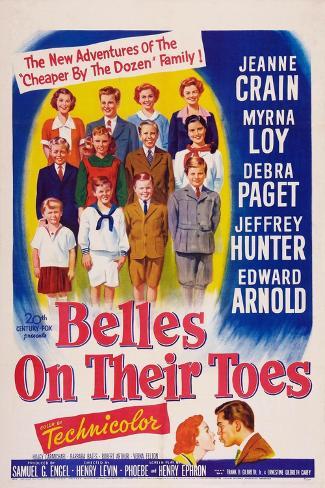 Belles on Their Toes, US, 1952 Lámina