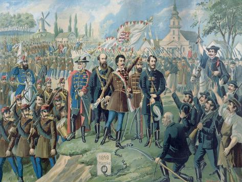 Sandor Petofi (1823-49) and His Famous Proclamation of