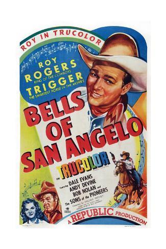 Bells of San Angelo Giclee Print