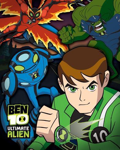 Ben 10 Ultimate Alien - Dusk Mini Poster