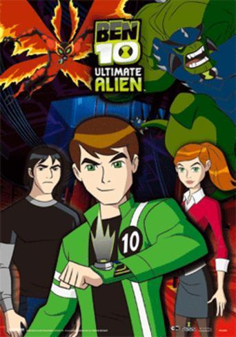 Ben 10 - Ultimate Alien 3 Dimensional Poster