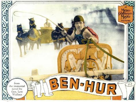 Ben-Hur, 1926 Art Print