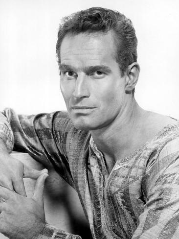 Ben-Hur, Charlton Heston, 1959 Fotografia