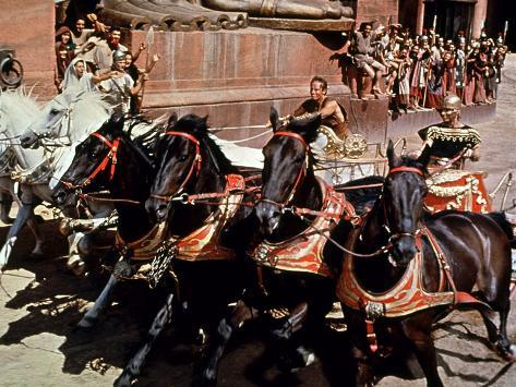 Ben-Hur, Charlton Heston, Stephen Boyd, 1959 Photo