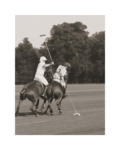 Polo In The Park II Art Print