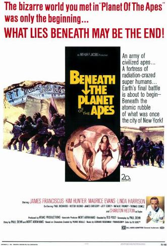 Beneath the Planet of the Apes Masterprint