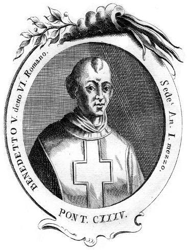 Benedict V, Pope of the Catholic Church Lámina giclée