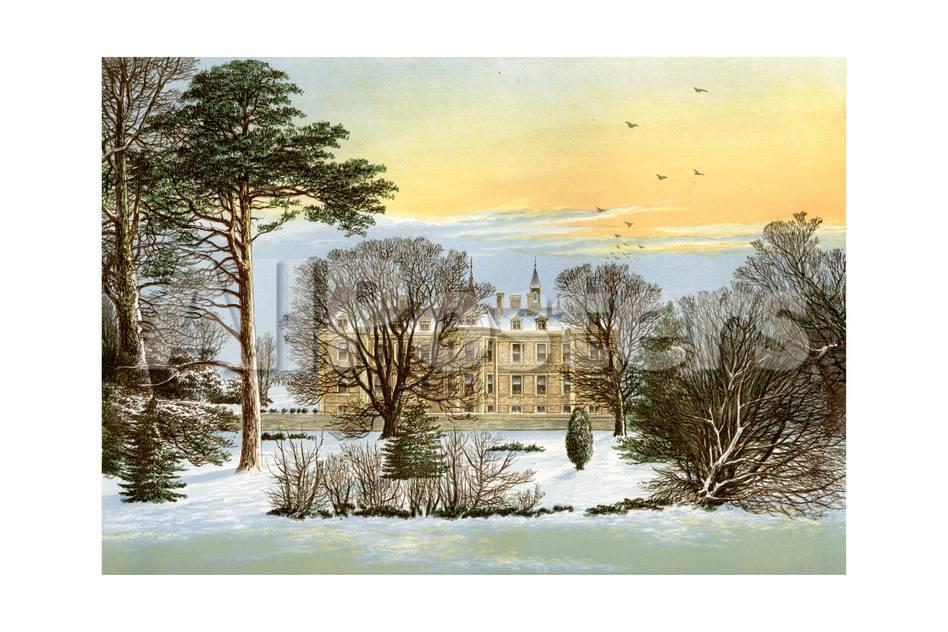 Warter Priory, Near Pocklington, Yorkshire, Home of the Wilson ...