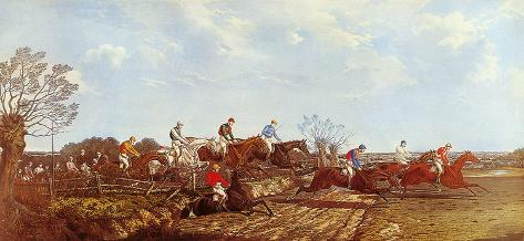 Silks and Satins of the Field Premium Giclee Print