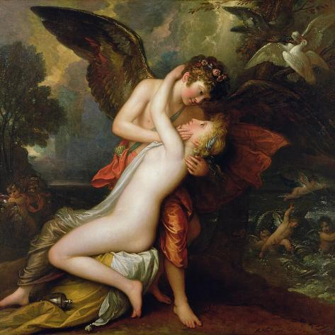 Cupid and Psyche, 1808 Giclee Print
