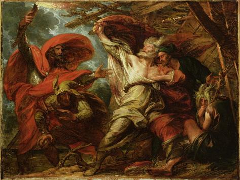 King Lear, c.1788 Giclee Print