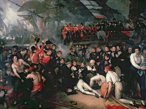 The Death of Nelson, 21st October 1805 Giclee Print