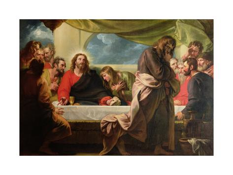 The Last Supper, 1786 Giclee Print