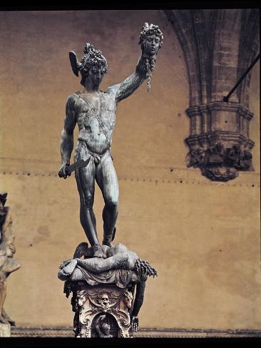 Perseus with the Head of Medusa, 1545-53 Giclee Print