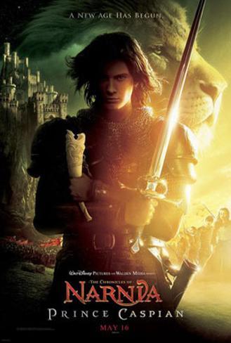 Berättelsen om Narnia: Prins Caspian Originalposter
