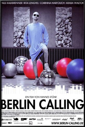 Berlin Calling - German Style Lamina Framed Poster