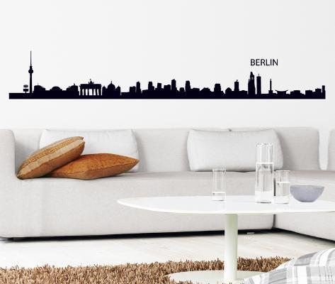 Berlin Outline Wall Decal